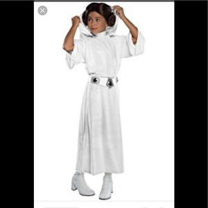 New Star Wars Princess Leila Chile costume